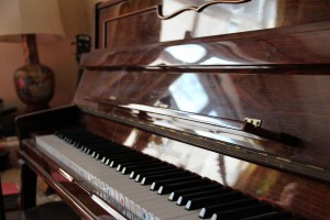 My piano ...