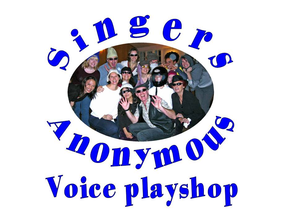 Singers Anonymous white background