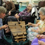 Improvised music project in a care home in Brighton, Dec 2013