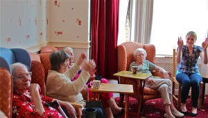 Singing in a dementia care home