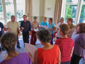 Findhorn Foundation singing workshop