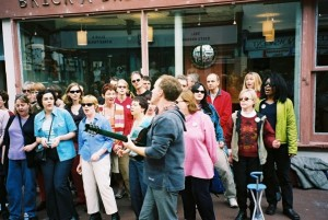 Singers Anonymous community choir, Streets of Brighton festival, 2002