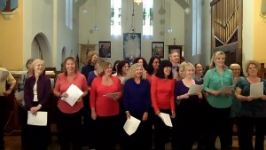 Vocality community choir, Whitehawk, Brighton, 2012
